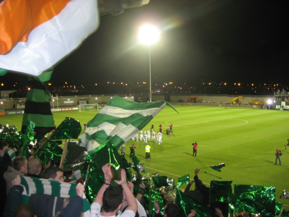 Four Continent Football: Part 4 – Europe (Shamrock Rovers' first game in Tallaght) (3/5)