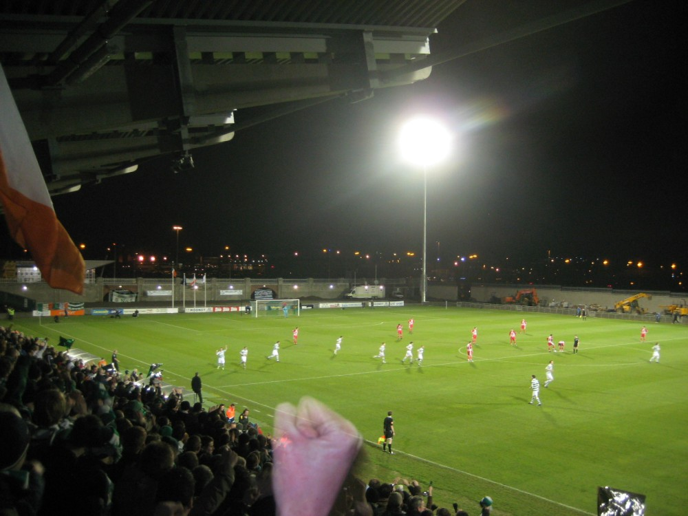 Four Continent Football: Part 4 – Europe (Shamrock Rovers' first game in Tallaght) (4/5)